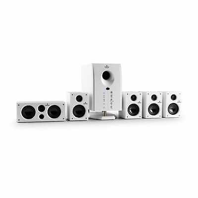 Sistema Audio Home Theater Altoparlanti Surround Subwoofer Attivo 5 Casse Cinema