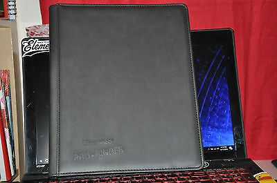 Ultra Pro Premium Pro Binder Leatherette Padded Cover Holds 360 cards Matte