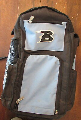 Boombah Backpack Bag Bat Pack Light Blue