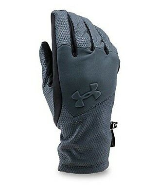 Under Armour Men's ColdGear Infrared Softshell Gloves, Stealth Gray (008), Small