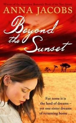 Beyond the Sunset by Anna Jacobs Paperback Book (English)