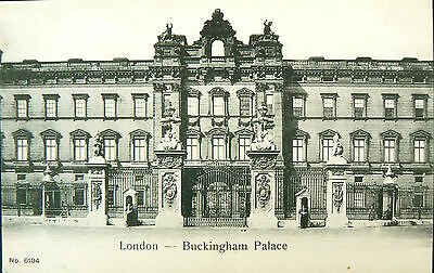 Postcard.topographical.buckingham Palace.early Card.undivided Back Real Photo