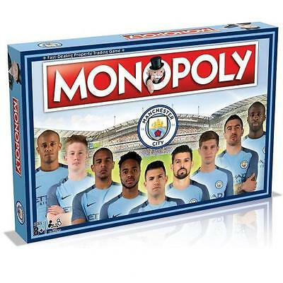 Manchester City F.C. Edition Monopoly Official Merchandise