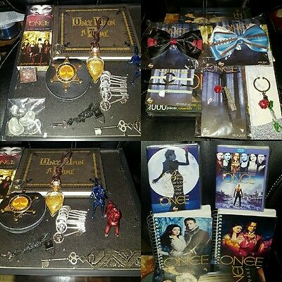 Once Upon a Time Ultimate Collection (autographs,replicas,books,magazines,etc)