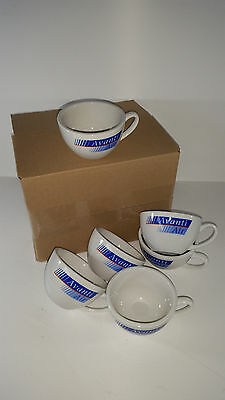 6 x Airline Porzellan Kaffee-/ Teetassen | coffee-/tea cups | AVANTIAIR