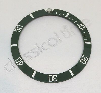 Green Ceramic Bezel Insert For 40Mm Rolex Submariner 116610Lv - Uk Stock