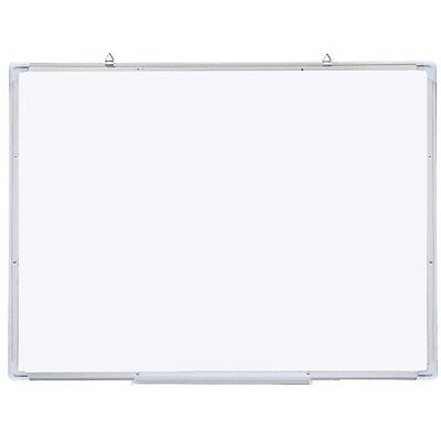 "47""x31"" Single Side Magnetic Writing Whiteboard Office Dry Erase Board White ED"