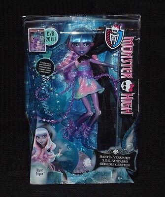 Monster High Haunted Daughter of the Grim Reaper River Styxx Doll BNIB