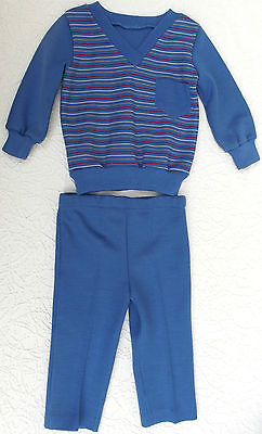 Babys vintage pyjamas UNUSED Age 18 months UNUSED Windsor boy girl STRIPED