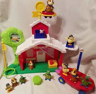 Wonder Pets School House Complete Working Sounds, Flyboat Extras Figures Lot HTF