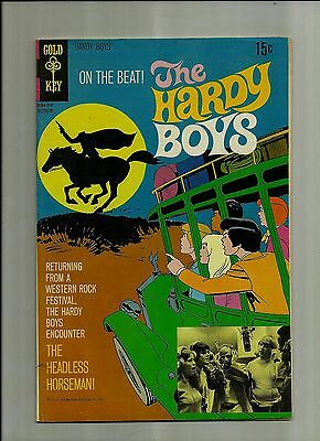 Hardy Boys #3 1970 Gold Key  Filmation Tv Cartoon Comic Book  Fn/vf