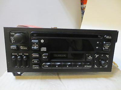 Chrysler Dodge Jeep Plymouth NOS AM/FM CD Tape Player
