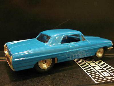 Eldon Custom Blue Pontiac Bonneville Slot Car 1/32 Scale Slot cars