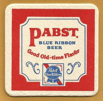16 Pabst Blue Ribbon Good Old-time Flavor Beer Coasters