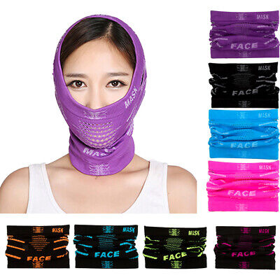 1x Sports Half Face Mask Neck Warmer Balaclava for Ski Motorcycle Cycling Hiking