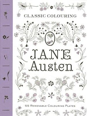 Classic Colouring: Jane Austen (Adult Colouring Book) by Abrams Noterie