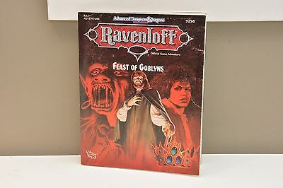 DUNGEONS & DRAGONS RA1 ADVENTURE 9298 - Feast of Goblyns, Halloween, TSR AD&D 2E