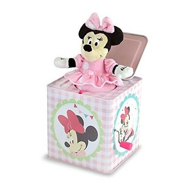 Minnie Mouse Baby Girls Jack-in-the-box You Are My Song Box Instrument Disney Ki