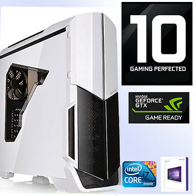 Gamer PC Intel Core i7 6700K 4x4,20Ghz-16GB-8GB GTX1080 -Gaming-Windows10