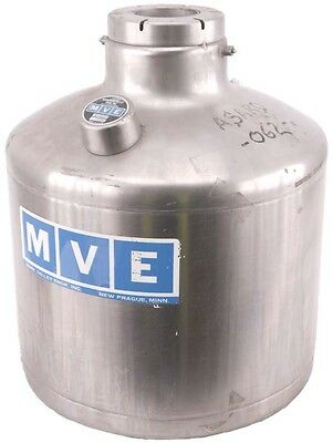MVE A-200 Liquid Nitrogen Supply Container/Canister/Tank Dewar Cryogenic