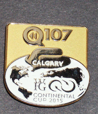 Curling Pin -  World Financial Group (WFG) Continental Cup 2015 - Q107 Calgary