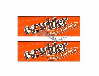 EZ-WIDER SLOW BURNING Rolling Papers 12 Booklets