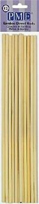 PME 12pk BAMBOO DOWEL WOOD RODS supports Tiered Cake Decorating