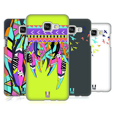 Head Case Designs Neon Feathers Hard Back Case For Samsung Galaxy A5 (2016)