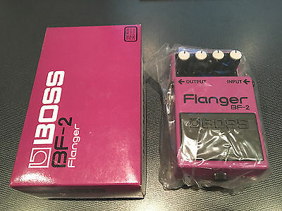 Brand New Boss Bf-2 Flanger Effects Pedal With Box Taiwan