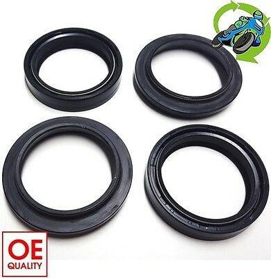 New Honda CB 500 (Twin 499cc) 1994 to 2002 Fork Oil Dust Seal Seals Set