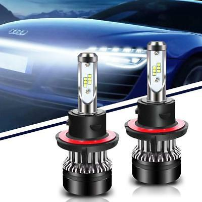 H13 9008 6000LM LED Headlight Kit Hi/Lo Beam Bulbs 6500K Fit of Chevy Ford Jeep