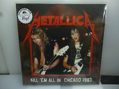 Metallica-Kill 'em All In Chicago 1983. Usa1983 Marble Brown Vinyl Lp-New.sealed