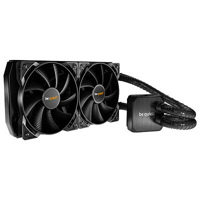 Be Quiet! 280Mm Silent Loop Superior Cpu Liquid Cooler With Full Copper Radiator