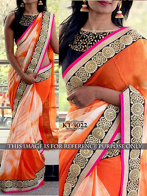 New Indian Bollywood designer Indian traditional style sari party wear Saree