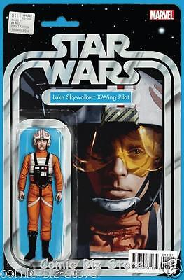 Star Wars #11 (2016) 1St Printing Christopher Action Figure Variant Cover