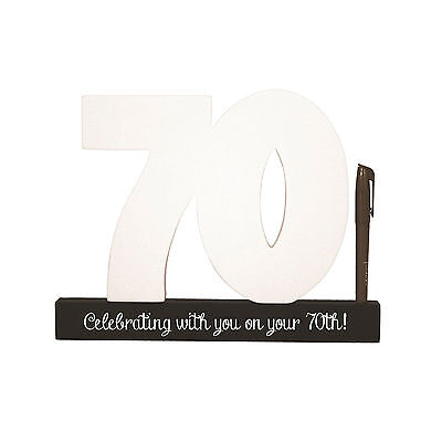 70 Birthday Signature Number