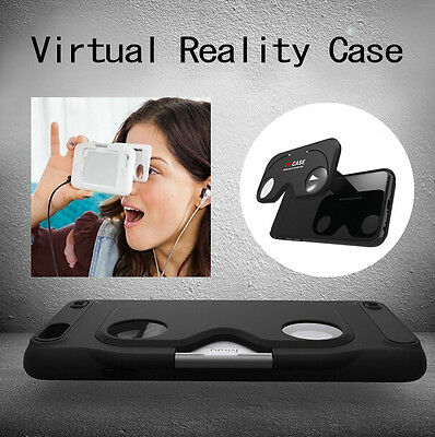 Portable iPhone6/6s/Plus 3D VR Glasses Case Virtual Reality Movie Holder Cover