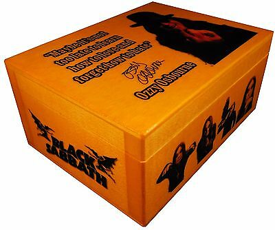 Ozzy Osbourne figure, Black Sabbath, BOX with SIGNED AUTOGRAPHED, Poster, Quote