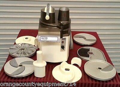 NEW Vegetable Chopper Cutter Slicer Food Processor & Blades Waring 31FP70 #2318