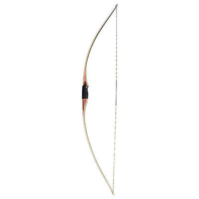 Bear Montana Long Bow RH 60lb Brown Maple - AMT176460RH