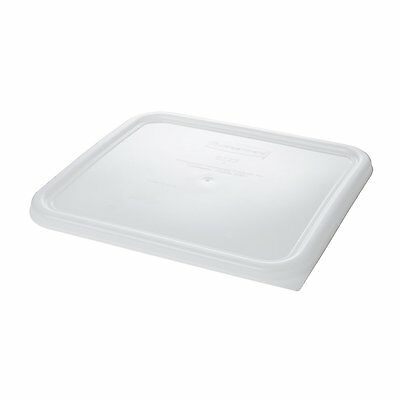 RUBBERMAID FG652300WHT Square Storage Container Lid,  New