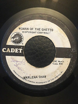 "Marlena Shaw - Woman Of The Ghetto 7"" Vinyl"