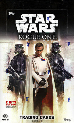 2016 Topps Star Wars Rogue One hobby box sealed