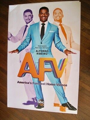 ABC America's Funniest Home Videos TV Series Poster Alfonso Ribeiro.