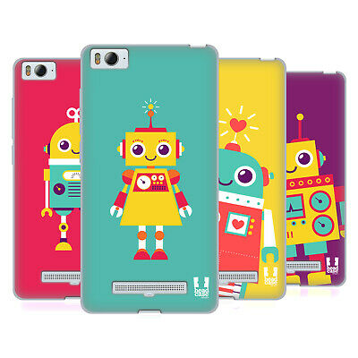 HEAD CASE DESIGNS ROBOT KIDS SOFT GEL CASE FOR XIAOMI Mi 4i / Mi 4c