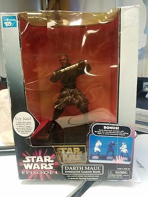 Star Wars Episode 1 Darth Maul Interactive Talking Bank