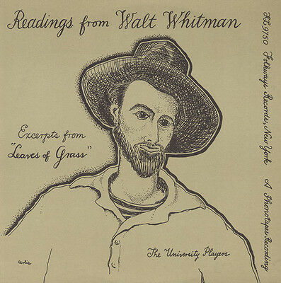 University Players - Selections from Walt Whitman's Leaves of Grass [New CD]