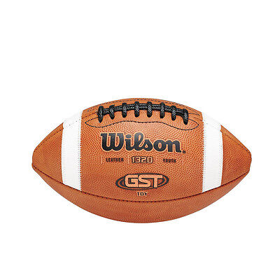 NEW Wilson TDY GST Youth Leather Football - WTF1320B