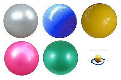 Gym Ball Swiss Ball Fitness Aerobics Yoga different size and color