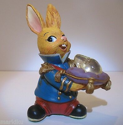 NEW Pendelfin Charming Prince with glass Slipper  figurine rabbit Bunny w/ Box